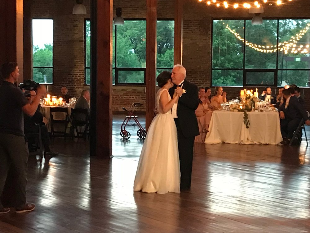 "Liz & her father's dance was ""Cinderella"" by Stephen Curtis Chapman"