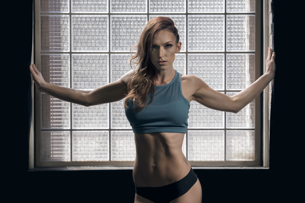 Portrait of trainer and fitness guru, Alysha White