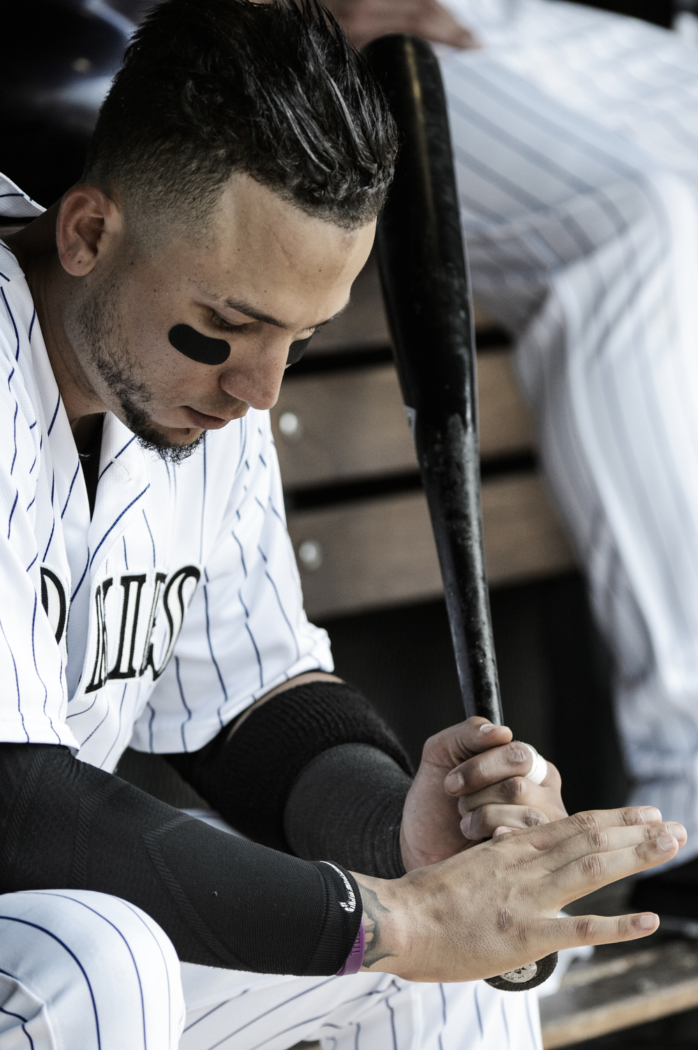 Colorado Rockies' All-Star outfielder Carlos Gonzalez