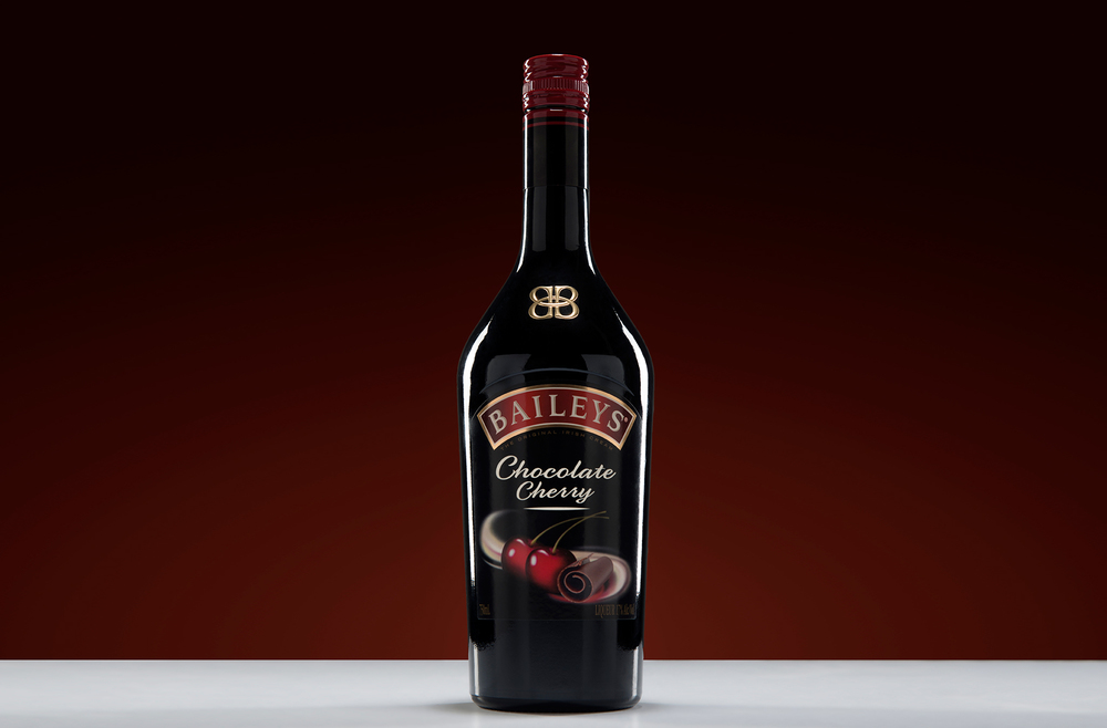 Tabletop product photo of Bailey's Chocolate Cherry