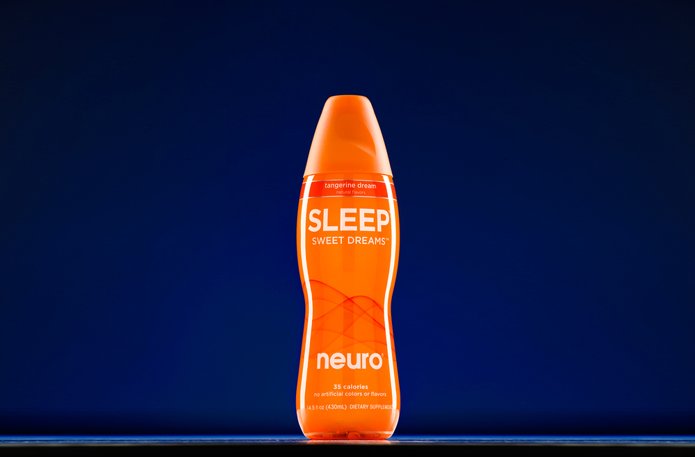 Tabletop product photo of Neuro Sleep beverage