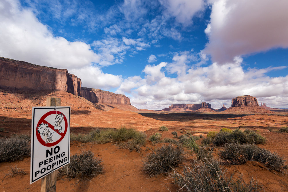 Monument Valley at John Ford's Point
