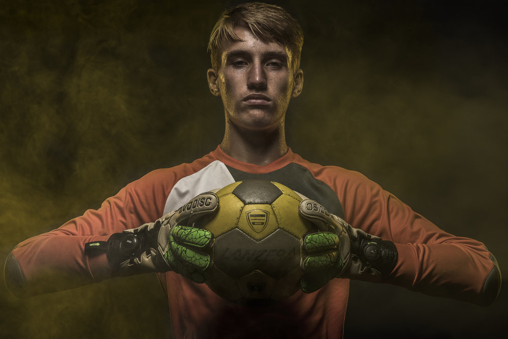 Portrait of High School Keeper