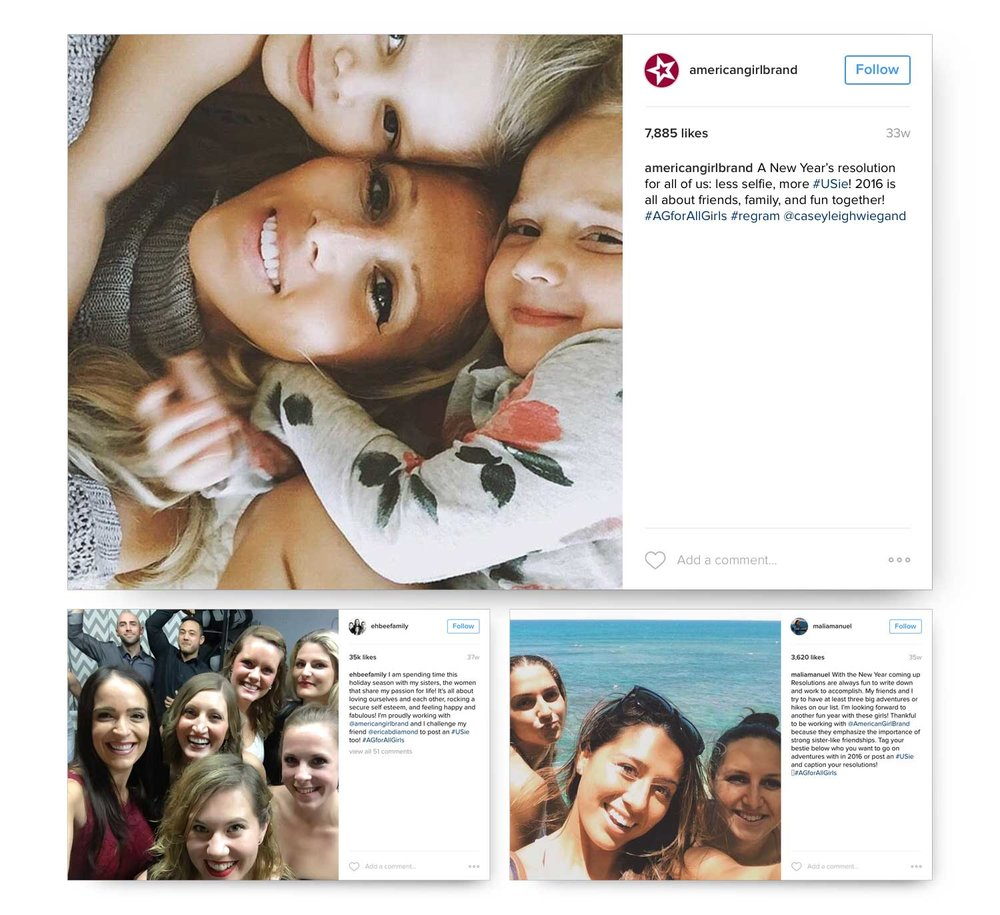 More than 30 social media influencers participated including professional surfer Malia Manuel, Canadian internet family personality The Eh Bee Family, and influential mom blogger Casey Leigh Wiegand.
