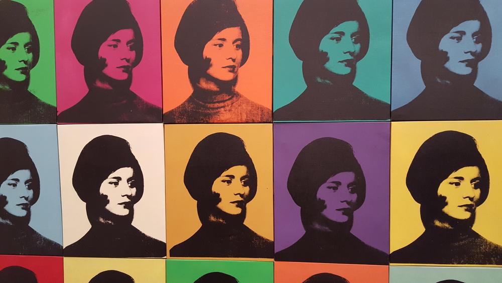 Miriam Davidson, by Andy Warhol