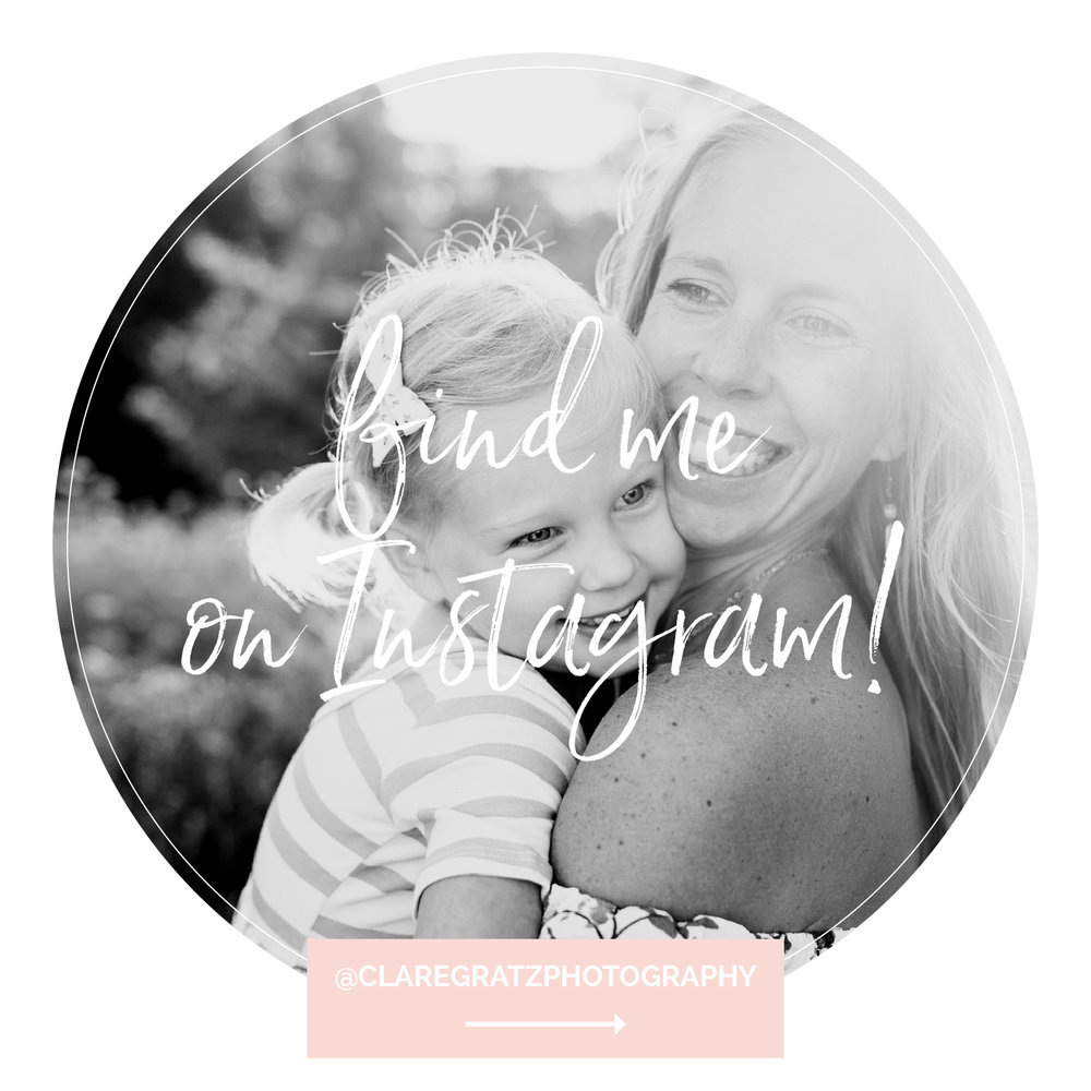 Clare Gratz Photography Instagram