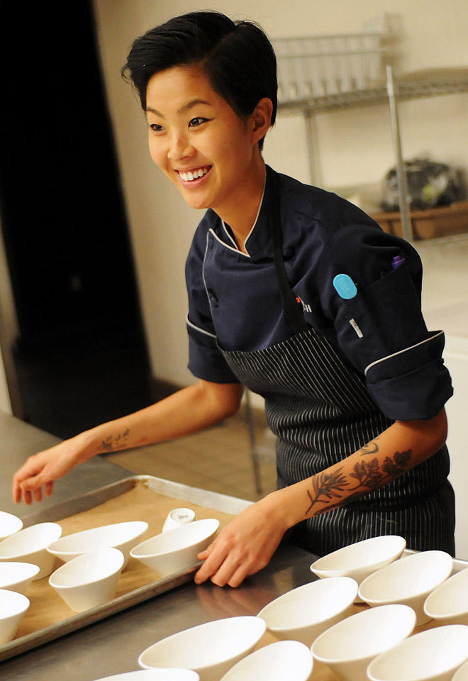 Past Events at  The Brampton  - and Yes that is our Guest Chef Kristen Kish