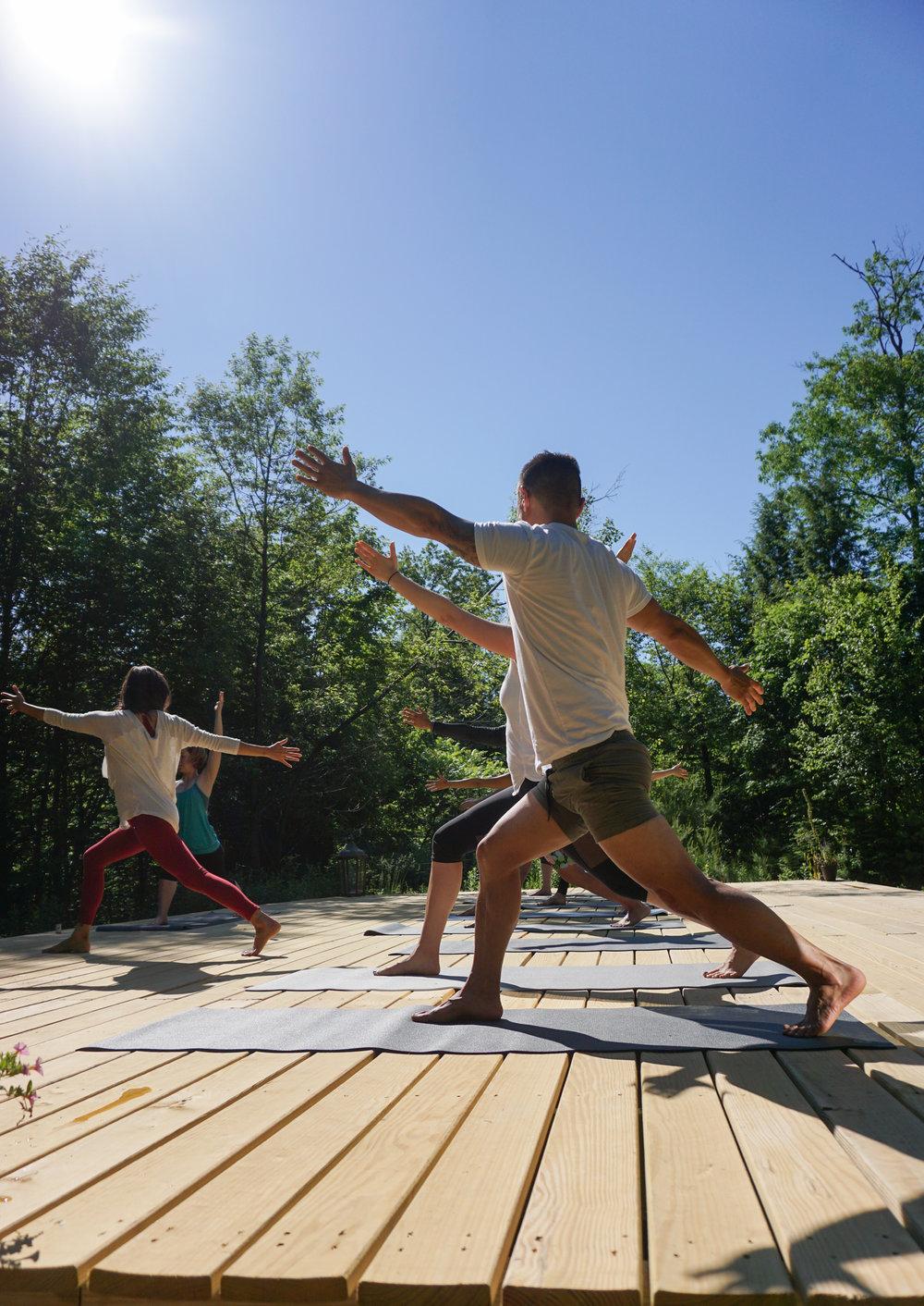 Yoga Adirondacks