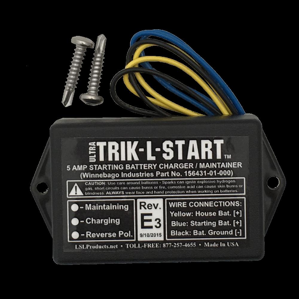Alternator & Starter Battery Charging