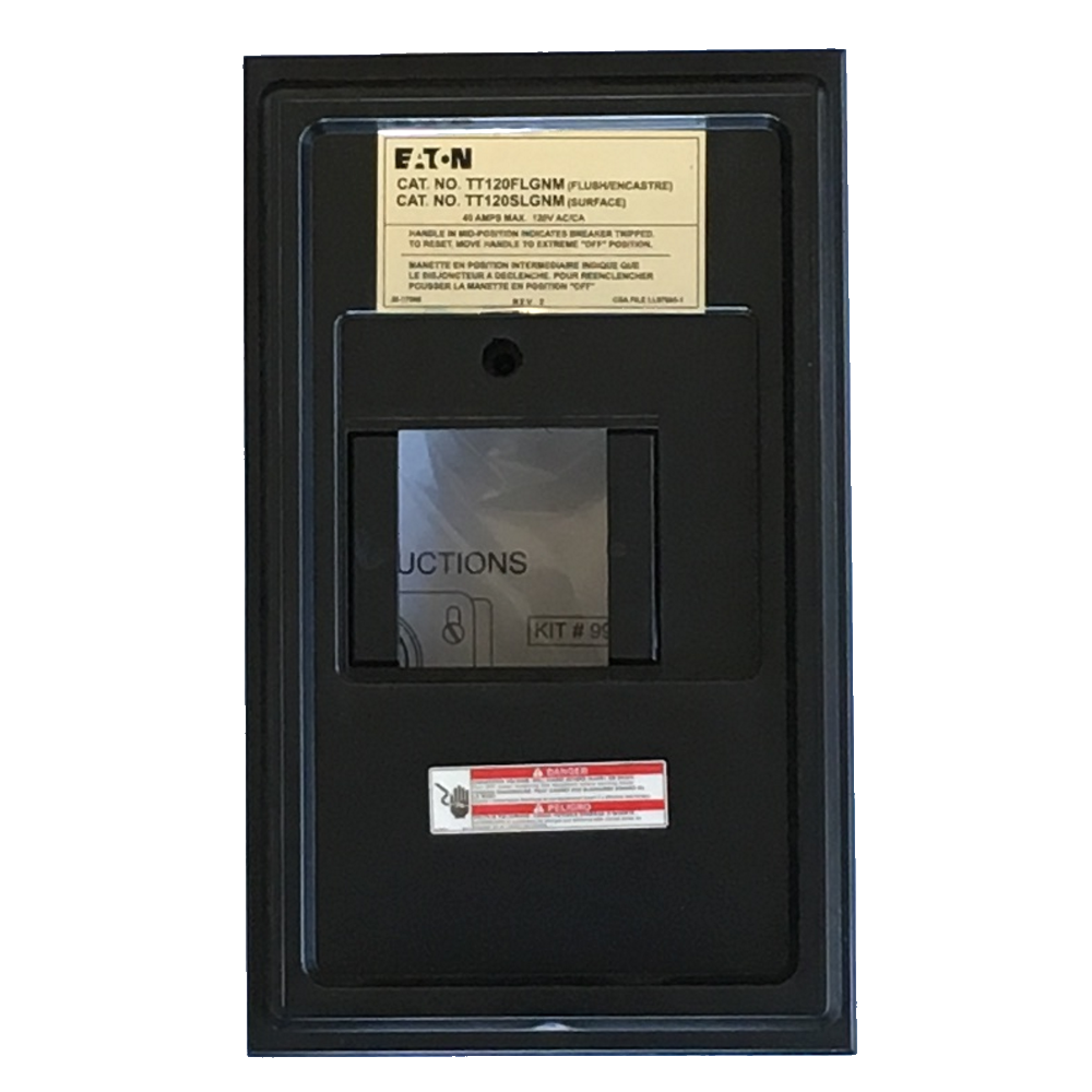 eaton sub panel flush mount