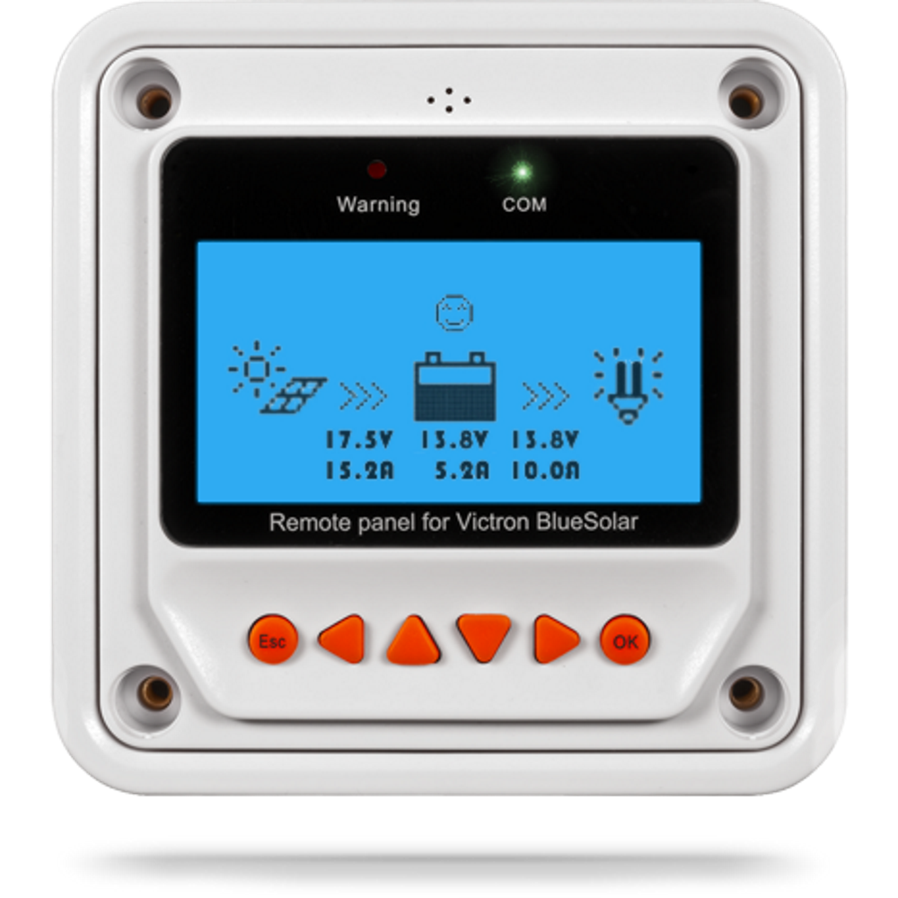 Victron 48v Solar Wiring Diagram Remote Monitor For Bluesolar Pwm Pro Charge Controller