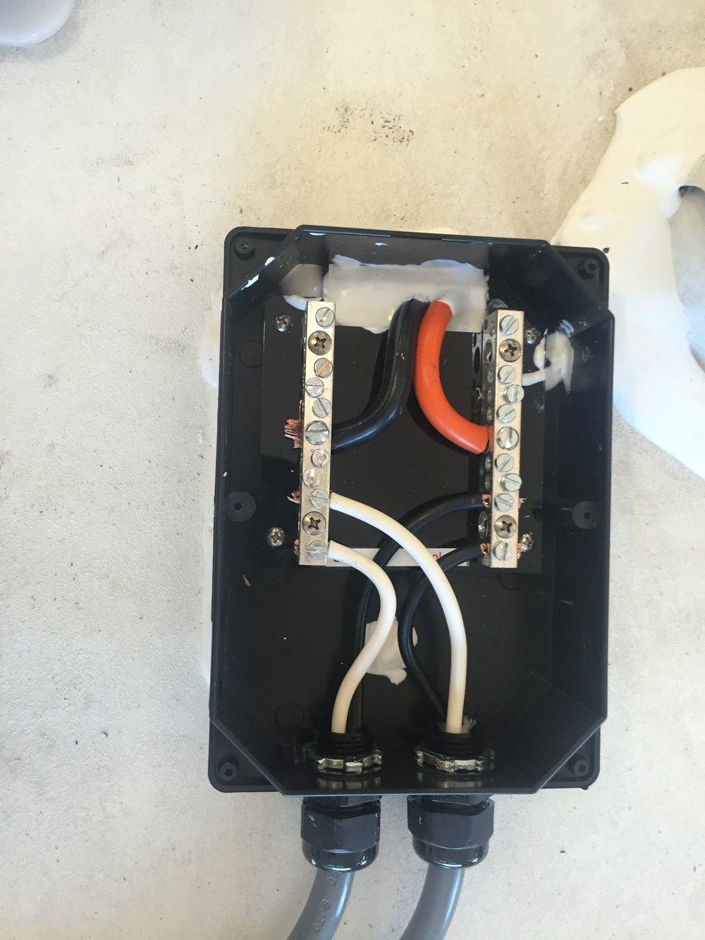 Combiner Box interior
