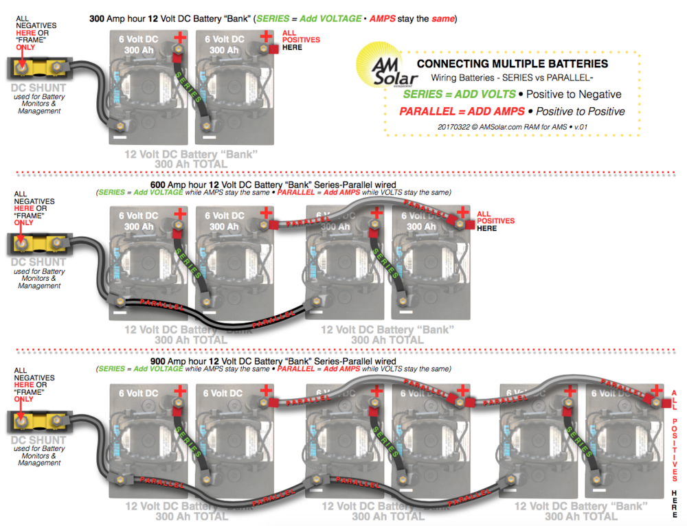 Wiring 3 Batteries In Parallel