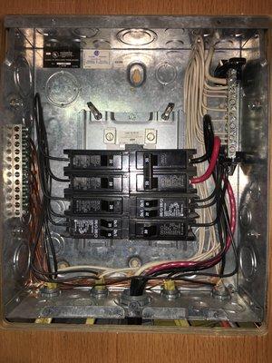 solar panel installation for rvs trailers am solar ac breaker box