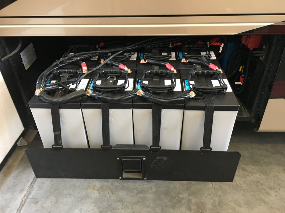 1200Ah of AGM Batteries