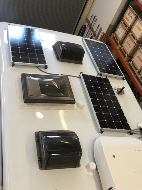 Equipment Added: 4x SP100 Solar Panel Kits 1x Refer Vent Box 1x SunRunner Signature MPPT 40A Charge Controller Core 2x 220Ah AGM GPL 4CTs Batteries 2x 300Ah AGM GPL 6CTs Batteries
