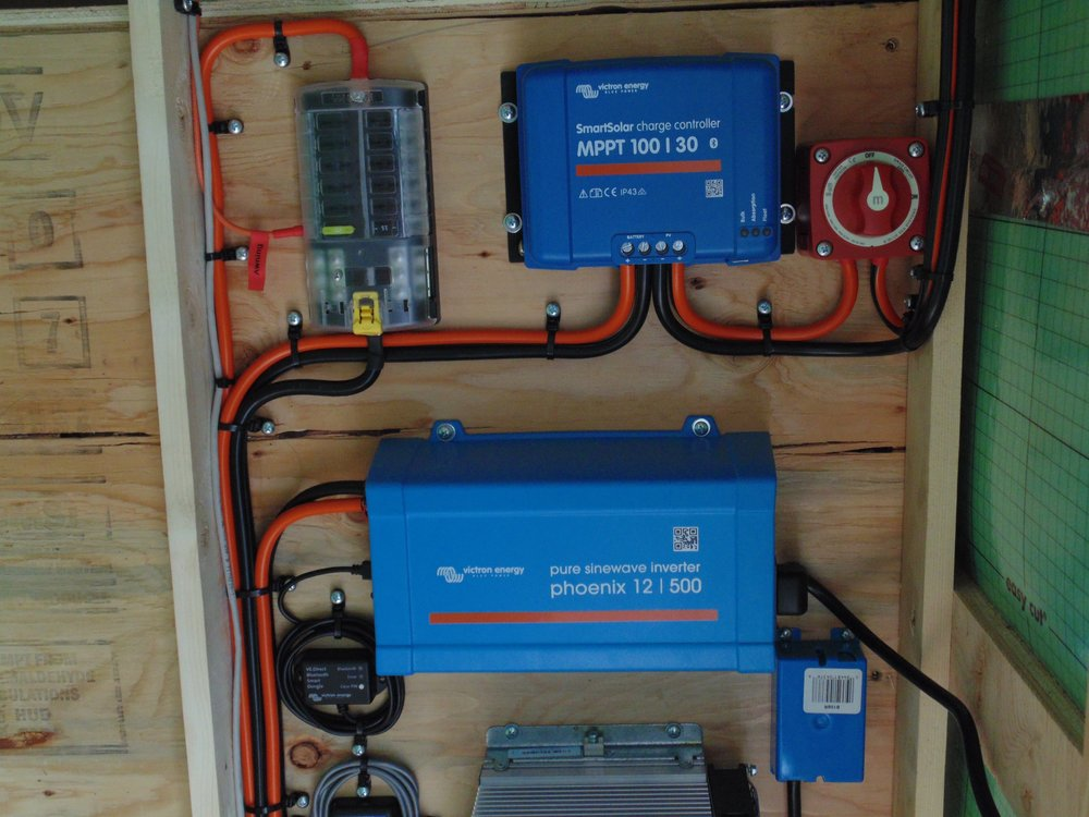 Solar Panel Installation For Rvs Trailers Am. Charge Controller And Inverter. Wiring. Corsair Travel Trailer Wiring Diagram At Scoala.co