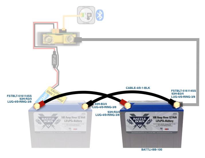 100Ah Battle Born Lithium Battery Expansion Kit