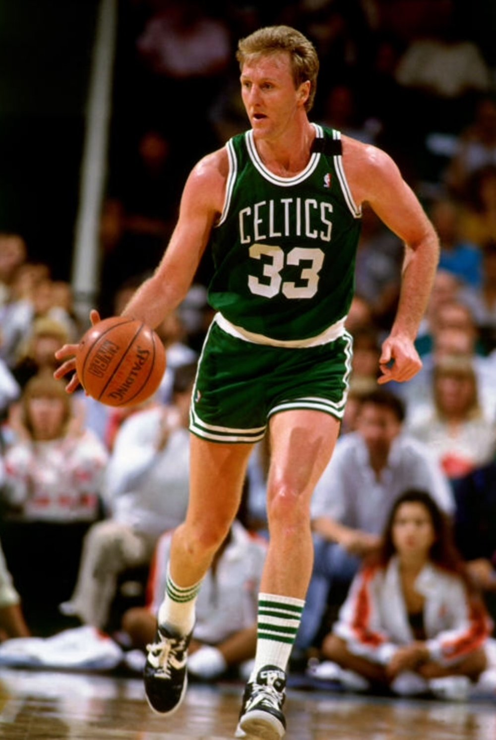 Larry Bird  FUN FACT:   His Rivalry With Magic Johnson Was Made Into A Documentary And A Broadway Play