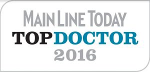 "Recognized as Main Line Today ""Top Docs"" 10 years in a row."
