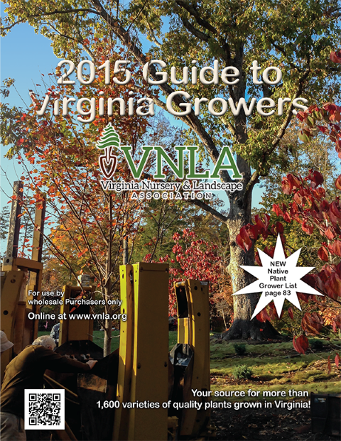 Instant Shade was delighted to be featured on the cover of this year's VNLA Growers Guide!