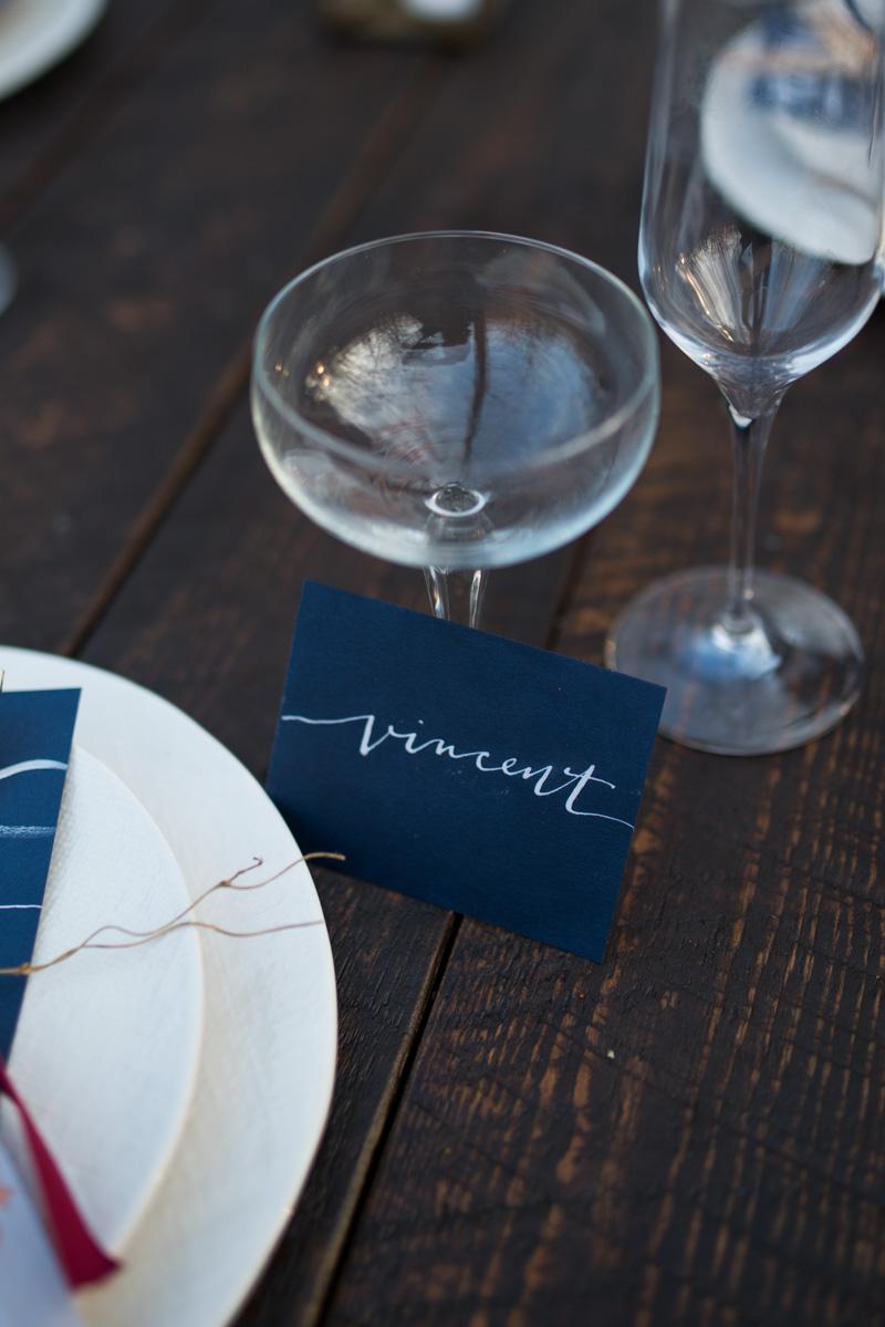 Van Gogh Wedding Style | Hooked Calligraphy