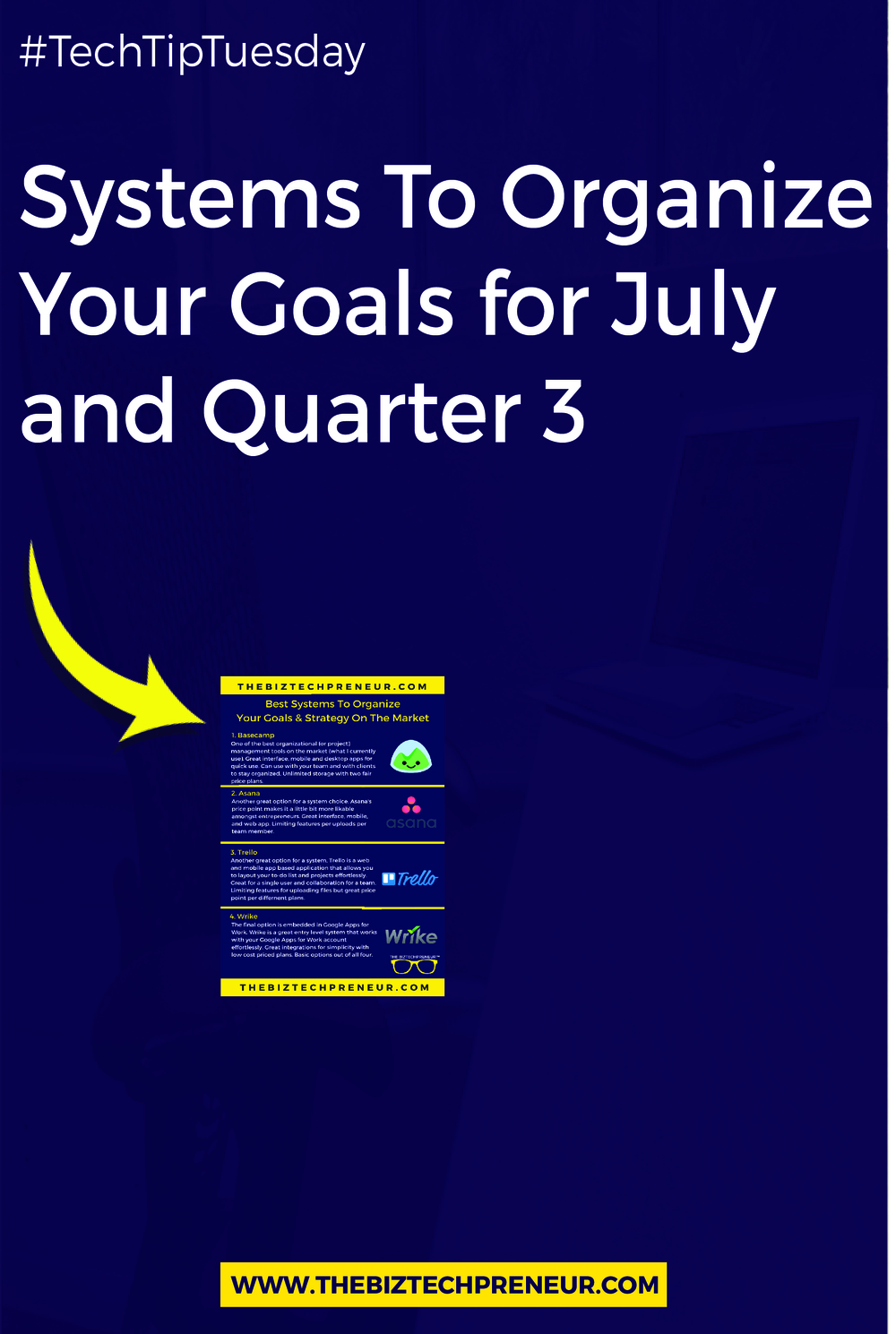 It's almost the end of June and Quarter 2, which means it's time to focus on July (and Quarter 3). In order to achieve this, planning and strategy must take place. Here are the 3 reasons why you need a organizational (or project) management system for your business...