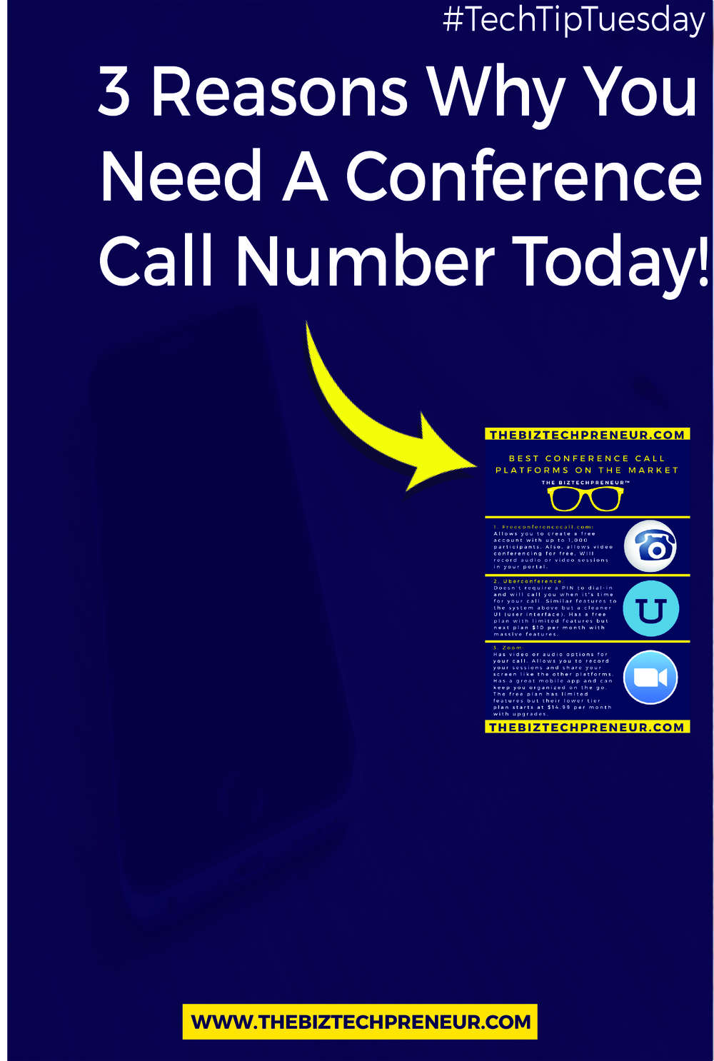 Having a conference call number shows many things when people book time to chat with you. You're letting people know that you have a system in place for them to contact you so that you can discuss the purpose of your service for them. Here are the 3 reasons why you need a conference call number and why you should sign up for one today...