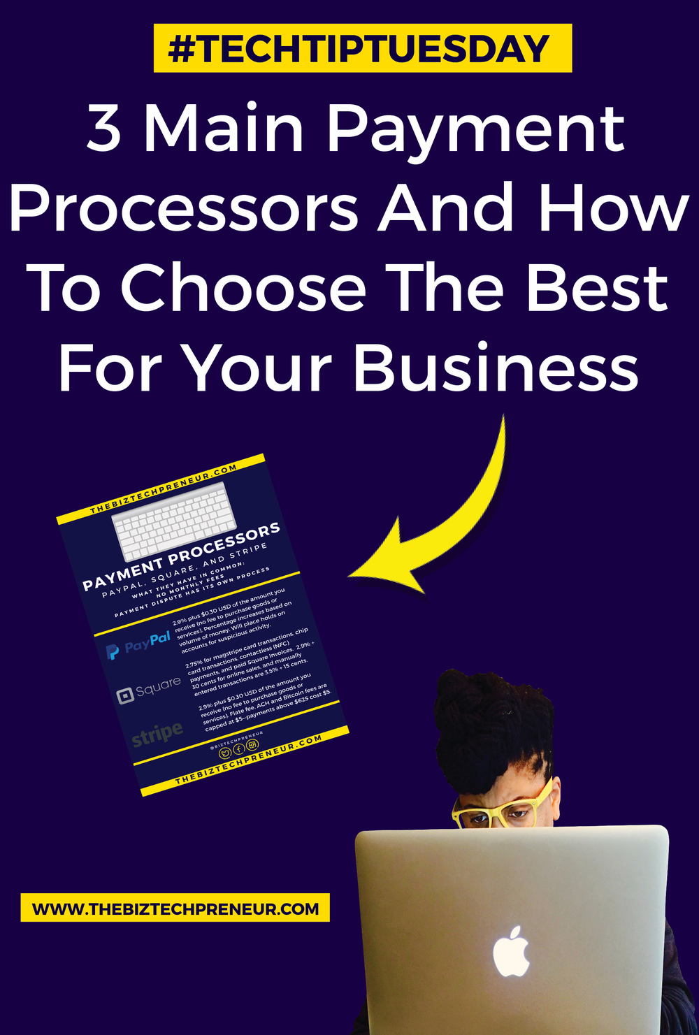 When it comes to payment processors, there are 3 that reign supreme in the online world. These 3 dominate most e-commerce platforms, websites, and digital products platforms. Here are the 3 main payment processors and how you can choose which one is best for you...