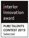 INTERIOR INNOVATION AWARD PURE TALENTS 2015