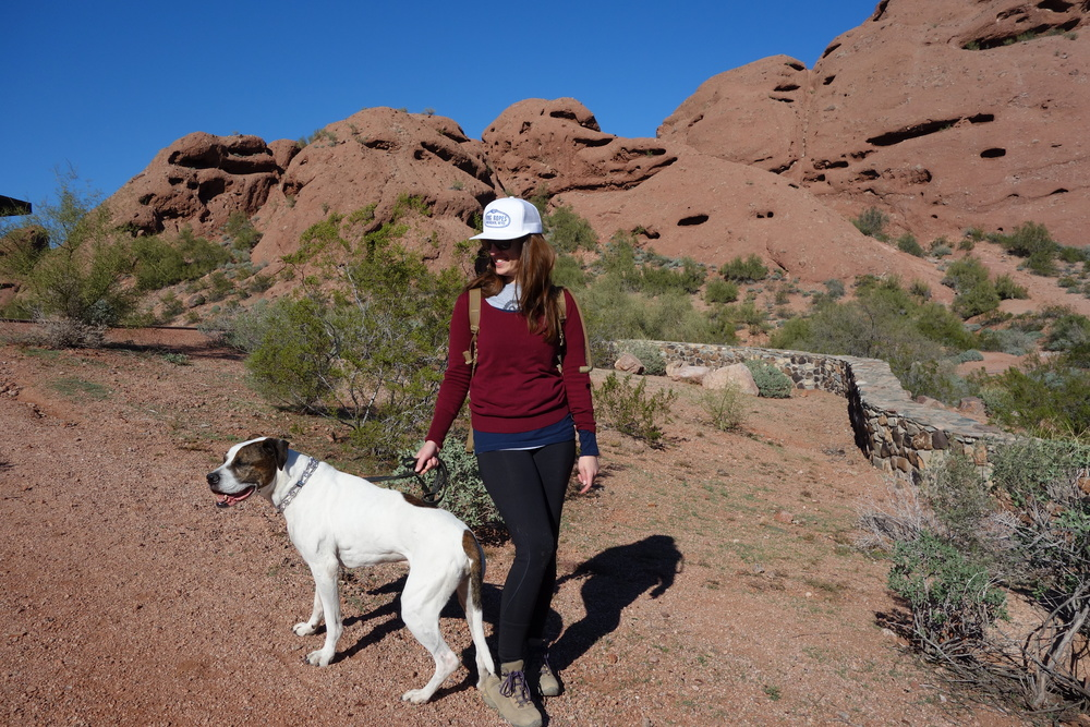 two buttes trail. two beauts trail? Also shout out to my buddies who work at the cattlmens assoc back in DC for the sweet hat! Sweetie has claimed it though, making it likely that I will never again wear it.  Her, and her siblings are notorious hat thieves....looks better on her anyway.