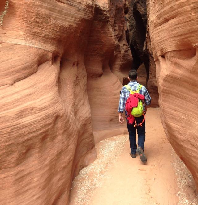 Buckskin Gultch. Longest slot canyon in the world.