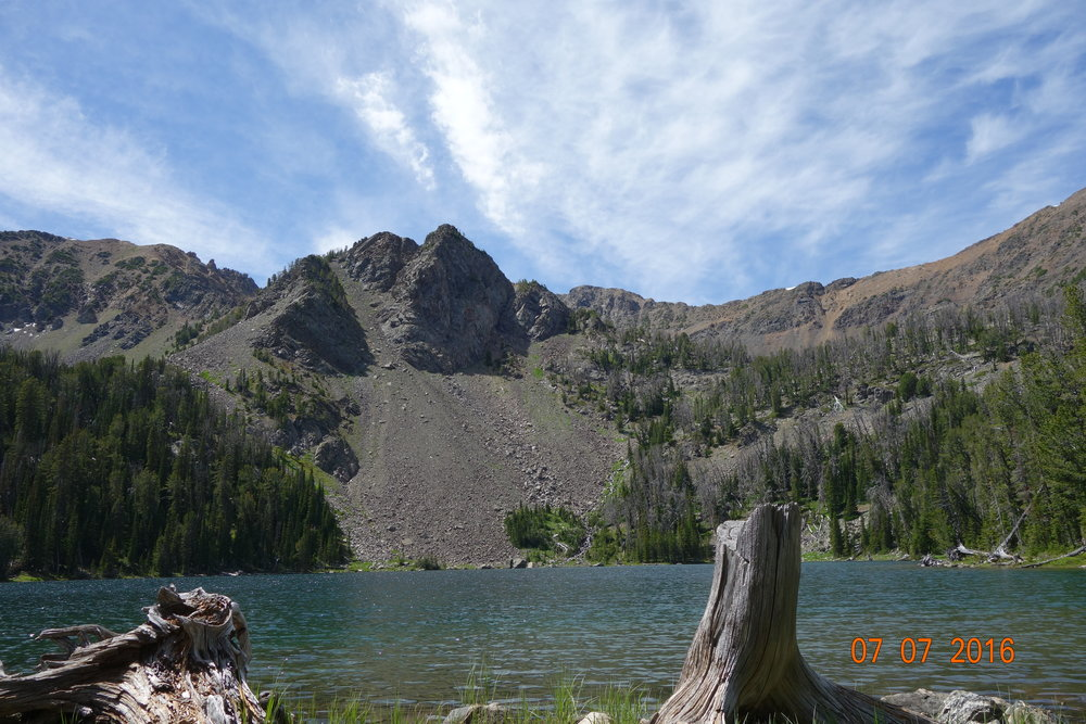 Sailor lake. Mammoth Montana. 11,000 ft.