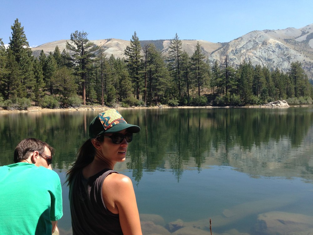 Made it to Secret Lake. We had lots of fun in the sierras with lots of friends. My buddy Trent closed out the visits.