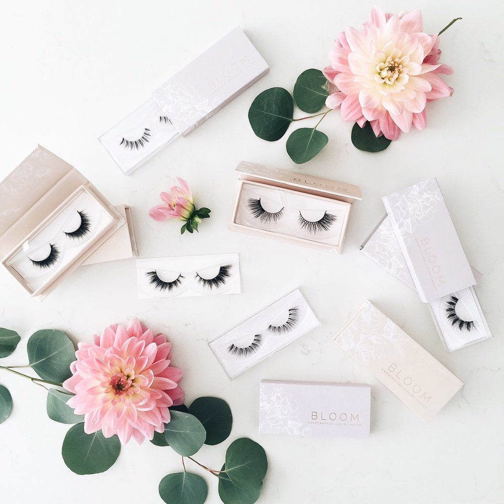 Bloom handcrafted luxury lashes - 2 varieties -