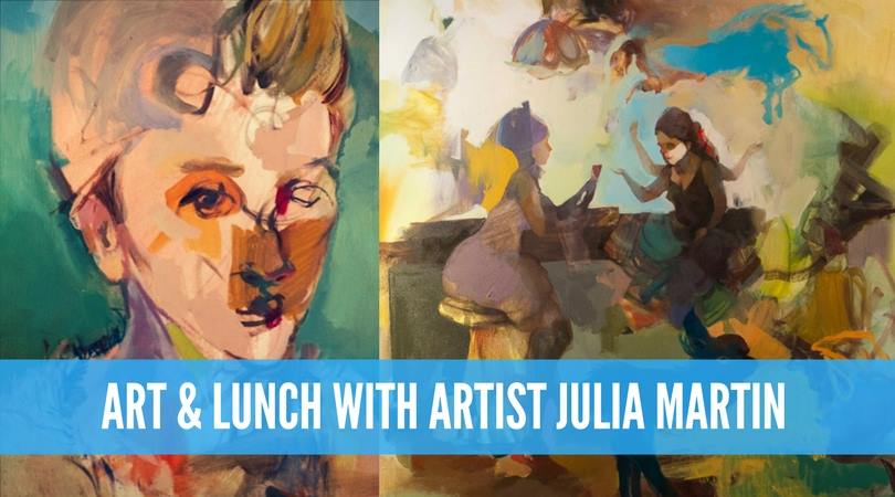 Art & Lunch with Julia Martin