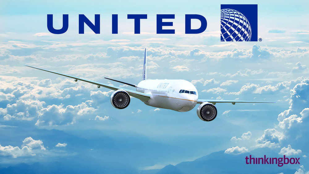 United Airlines - 3D Real-time Virtual Reality