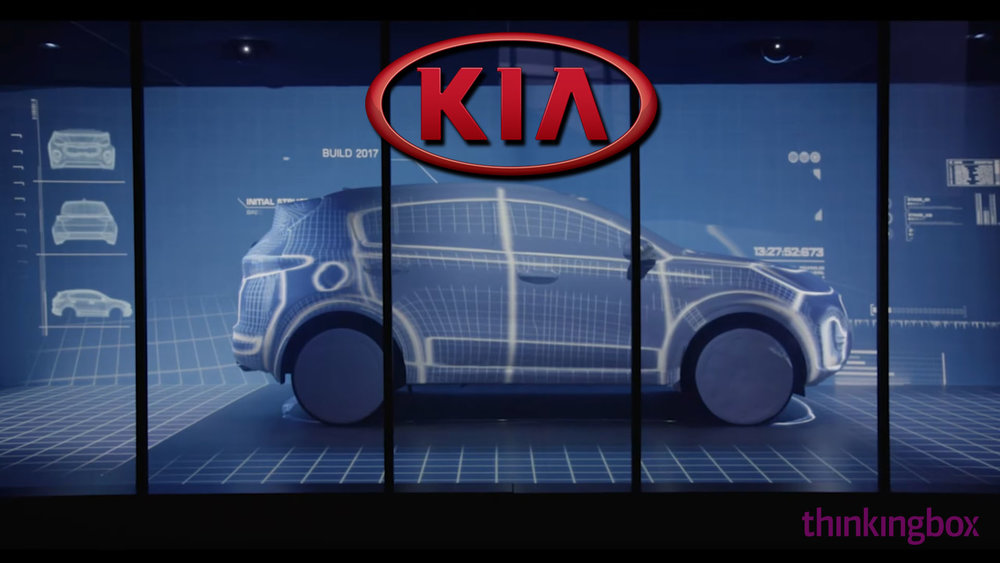 KIA - 3D Projection Mapping