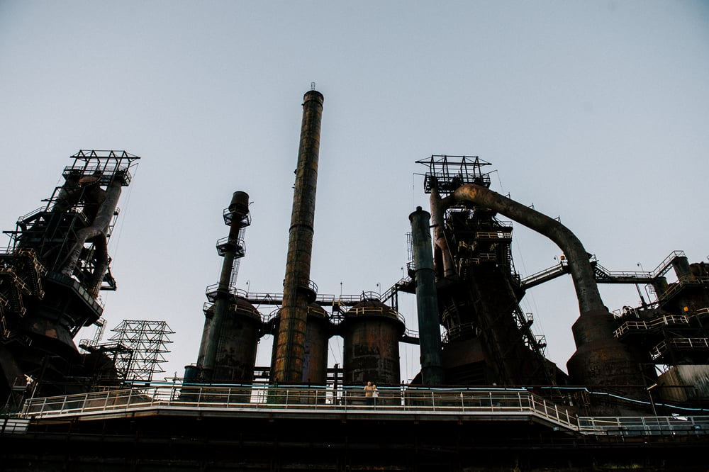 steel-stacks-enagement-photos