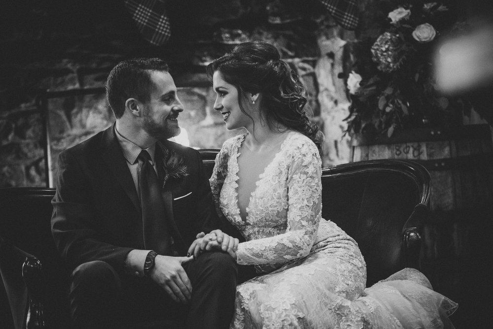 Alisa Brett Glasbern Inn Lehigh Valley Wedding Nina Lily