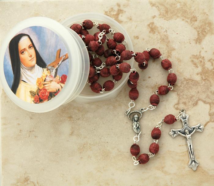 Rose Petal Rosary  $19.99
