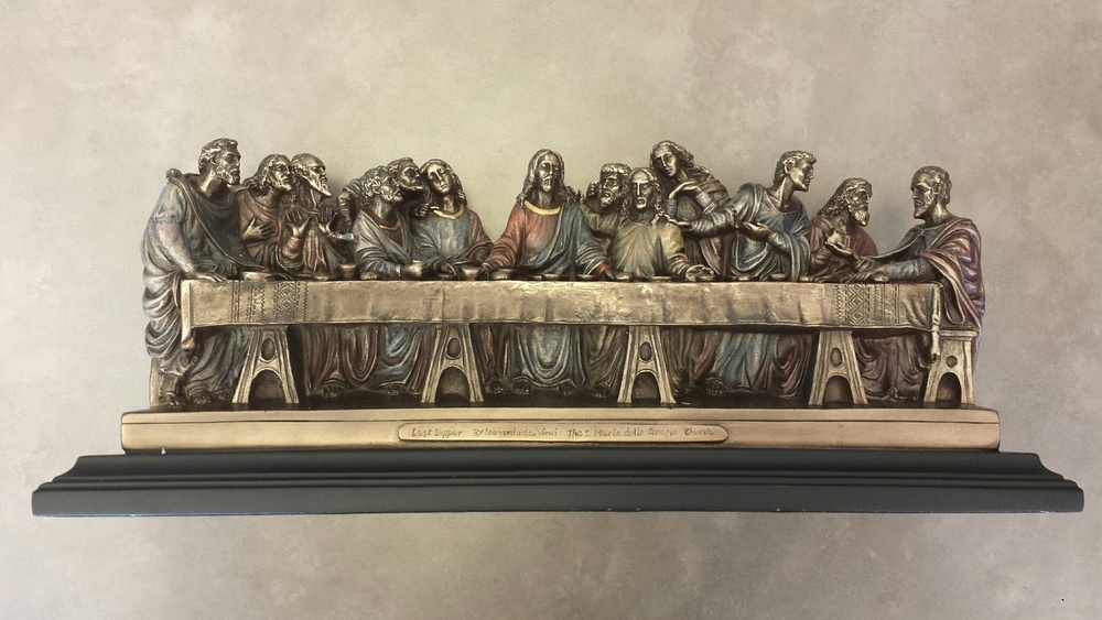 The Last Supper- Bronze $160.00