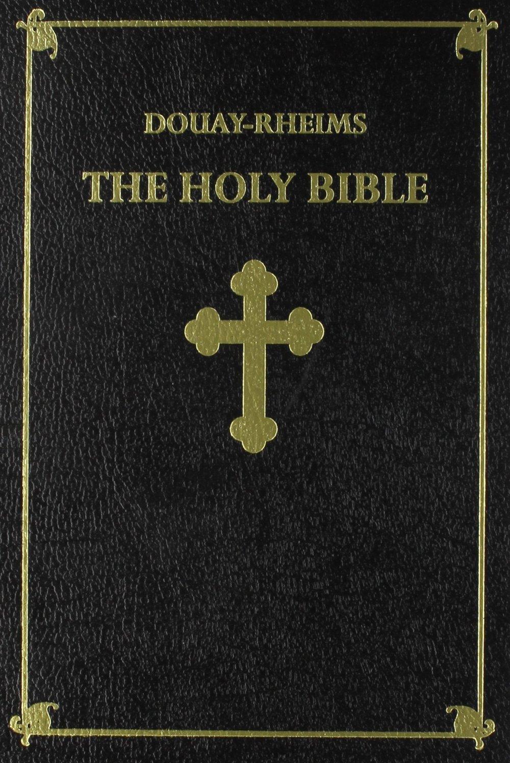 Douay-Rheims Bible $39.95