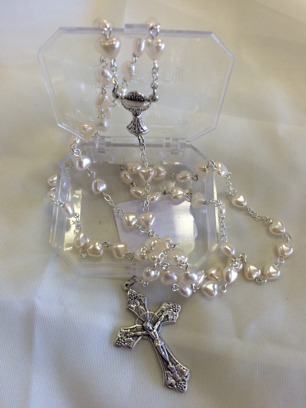 Heart Rosary $12.99