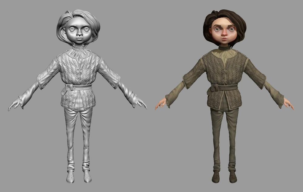 Arya Stark Model