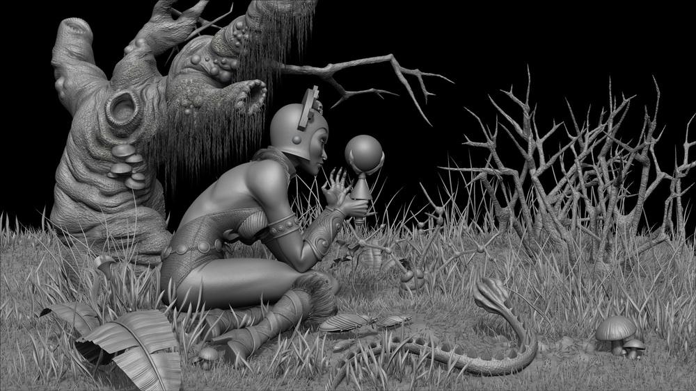 Evil-Lyn 3D Model