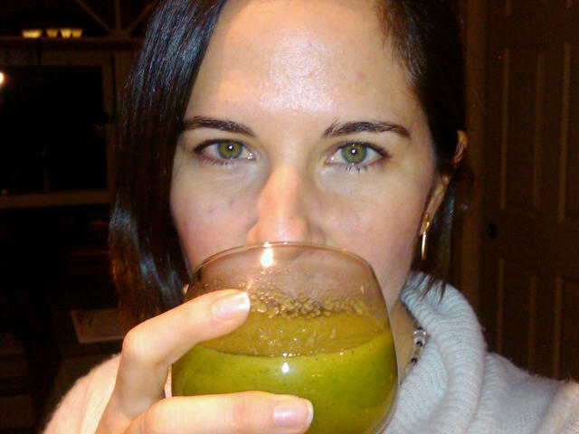 Juicing and doing detoxes was the first thing that started helping. I began to understand food as medicine and how the body truly heals.