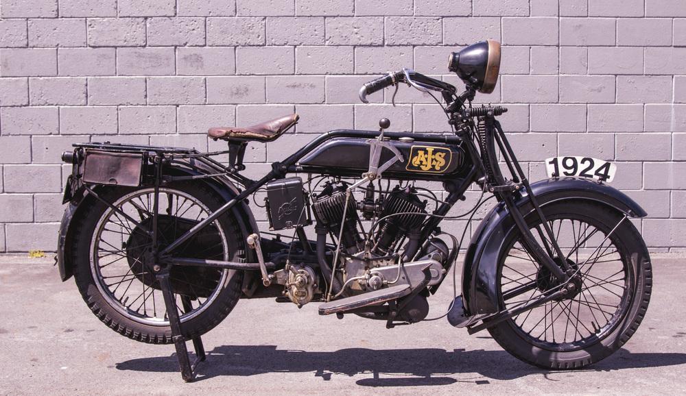 1924 AJS 800cc V-twin