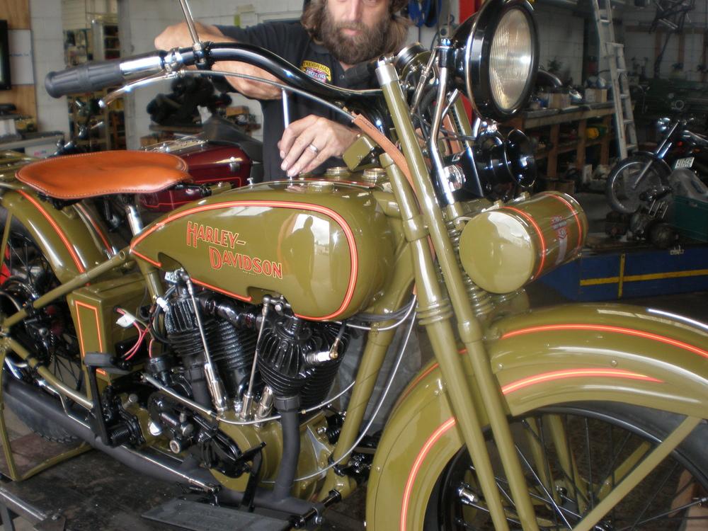 1927 Harley Davidson Restored