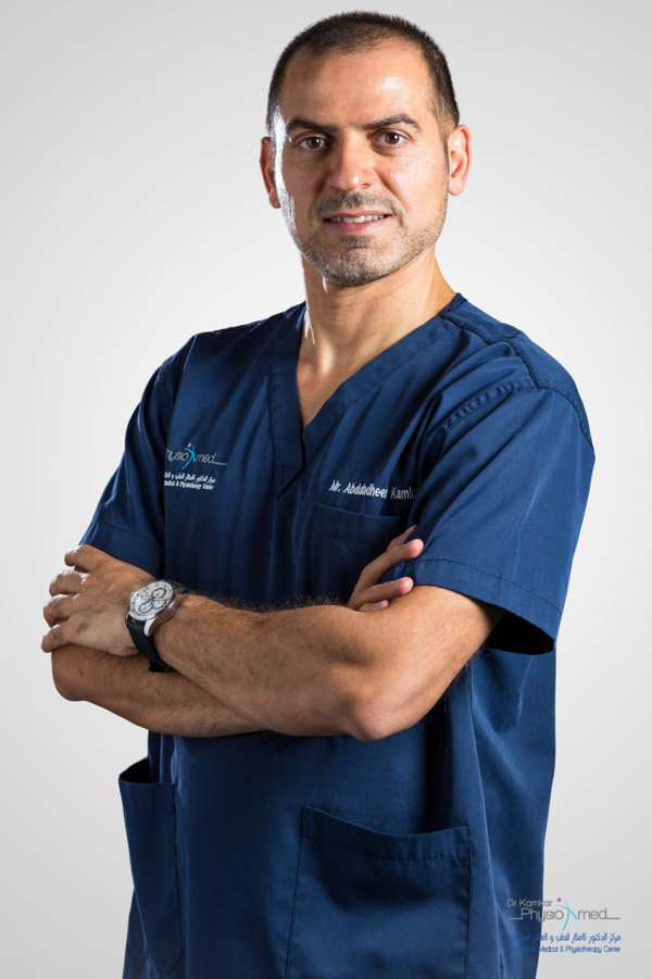 Mr. AbduladheemKamkar - Physiotherapist